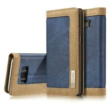 Premium Luxury Jeans Flip Wallet Case Cover for Samsung Galaxy S8 / S8+ Plus