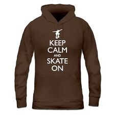 Sudadera con capucha de mujer Keep Calm and Skate on