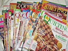 American Patchwork & Quilting Magazine August 1993 Issue 3 - December 2010 # 107