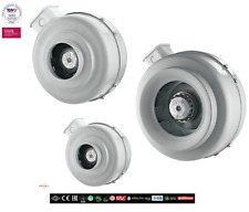 TURBO Rohrlüfter Radiallüfter Metall Abluft  Axial Rohrventilator Be-Abluft BNG