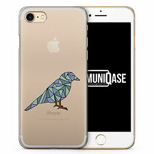 iPhone Hülle SLIM - Abstrakt Geometrisch Vogel Case Cover - Abstrakt Tiere Vogel