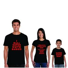 Super Cute Family T-shirts by Giftsmate