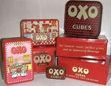 COLLECT UK TINS - EARLY OXO 1960/2000 ~ click on - SELECT - to browse or order