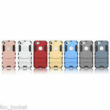 Slim Hybrid Armor Defender stand back case cover for Apple iPhone 7 Plus