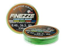 Savage Gear Finezze HD8 Counter Braid 300m 0,22-0,32mm / linea de pesca trenzada