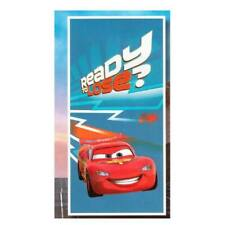 Telo Mare Disney Cars Ready  Blu Cm 75 x 150 In Morbida Spugna