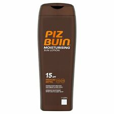 PIZ BUIN MOISTURISING SUN LOTION SENSITIVE SKIN 15SPF MEDIUM/MITTEL-200ML