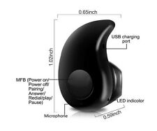 Wireless Bluetooth 4.0 Stereo Headset for mobile phone S530 Mini Stealth