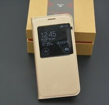 WINDOW LEATHER FLIP COVER (SAMSUNG GALAXY ALL MODELS)