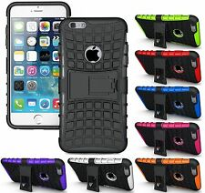 Heartly Flip Kick Stand Spider Armor Hard Back Case Cover Apple iPhone 6 Plus 6S