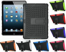 Heartly Flip Kick Stand Spider Armor Back Case Cover Apple iPad All Generations