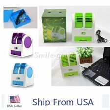 Mini Cooling Fan USB Battery Operated Portable Air Conditioner Cooler US