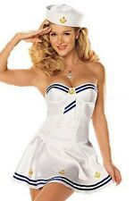 Sexy Cute Sailor Lingerie Roleplay Costume Cosplay Babydoll Dress Skinny Skirt