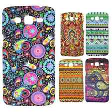 Heartly Aztec Print Tribal Style Hard Back Case Cover For Samsung Galaxy Grand 2