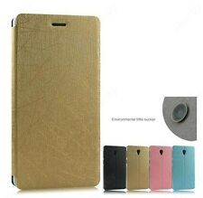 Premium Luxury PU Leather Flip Stand Hard Best Back Case Cover For Lenovo S860
