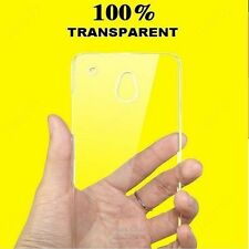 Heartly Imak Clear Transparent Hot Ultra Thin Hard Back Cover For HTC Desire 601