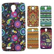 Heartly Aztec Print Tribal Matte Style Thin Hard Back Case Cover For Lenovo A859