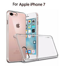 Heartly Clear Transparent Thin Hard Bumper Back Case Cover For Apple iPhone 7