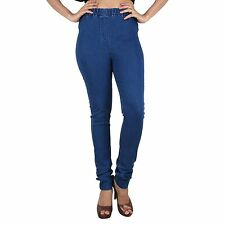 IndiaPehnava Dark Blue denim woman's jeggings and jeans