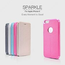 Nillkin Sparkle Leather Flip Stand Hard Back Case Cover For Apple iPhone 6 4.7