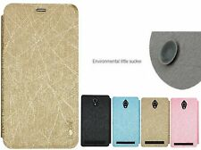 Heartly Luxury PU Leather Flip Stand Back Case Cover For Asus Zenfone Go ZC500TG