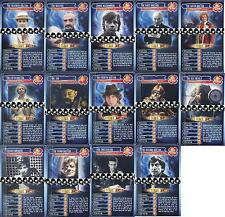 Doctor Who TOP TRUMPS COLLECTOR'S EDITION 45 Years Of Time Travel ASSORTED CARDS