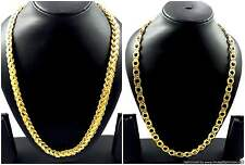 "Gold Plated Chains 24 and 25"" Long Beautiful Attractive Designer Fashion Jewelry"