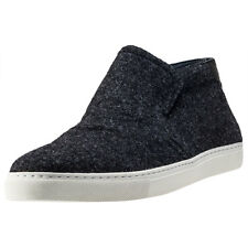 Tommy Hilfiger Mount 9d Mens Grey Textile Casual Trainers Slip-on New Style