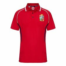 OFFICIAL British & Irish Lions 2017 NZ Tour Winger Polo - Red