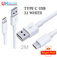 2M USB Type C 3.1 Charging Reversible Data Charger Cable For Sony XZ Premium S8