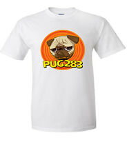 PUG283 Join the team Character Buster T-shirts everyone loves a pug