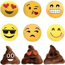 Kissen Emoji Emoticon Emoj Smiley Deko Dekor Sofa Smilie Whats App