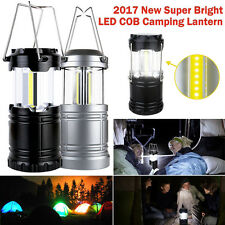 LED Camping Fan Battery Operated Headlamp Hanging Tent Night Light Lantern Lamp