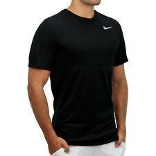 Nike Men's Racer  Short-Sleeve Tshirt/sport top/gym/dfifit/black/mesh/light/run