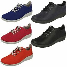 Mujer Clarks NUBE Steppers Zapatos-Sillian TINO