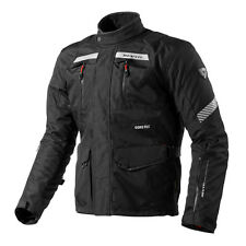 REV'IT! NEPTUNE GTX MOTO Touring Chaqueta Negra revoluciones IT revit