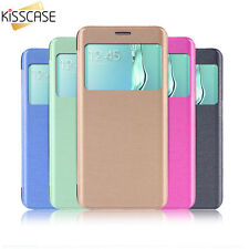 Slim Flip Case with Window for Samsung Galaxy S6,S6 Edge,S6 Edge Plus,S7,S7 Edge
