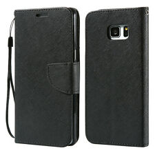 Classic Flip Leather Case for Samsung Galaxy S8 S8 Plus S7 S7 Edge S6