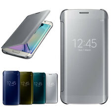 Clear Front Flip Case For Samsung Galaxy S8,S8 Plus,S7 Edge,S7,Note 5,Note 4