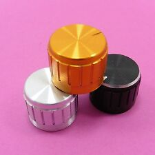 21x17mm Aluminum Potentiometer Knob for 6mm Shaft Control Cap Variety of Colours