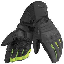 Dainese Scout Evo Carbon / Black / Fluo Yellow Moto Gore Tex Gloves | All Sizes