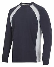 SNICKERS WORKWEAR 2402 T-shirt manica lunga Uomo Camicie Snickers CAMICIE