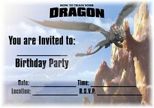 Pack of 6 Unique Party 72351 How To Train Your Dragon Party Invitations