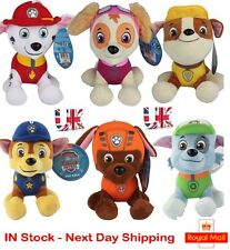 Paw Patrol Toys Set Nickelodeon Plush Soft Dog Pals SKYE ZUMA ROCKY Rubble Chase