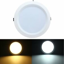 12W LED Flush Mount Recessed Ceiling Panel Down Light AC85-265V