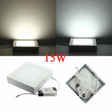 15W Square LED Panel Ceiling Down Light Lamp AC 85-265V