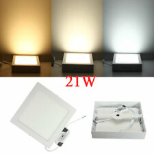 21W Square LED Panel Wall Ceiling Down Lights Mount Lamp AC 85-265V