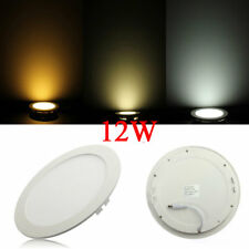 Dimmable Ultrathin 12W LED Ceiling Round Panel Down Light Lamp