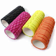 34x14cm Pilates Fitness Foam Roller Home Gym Massage Trigger Point