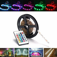 0.5/1/2/3/4M SMD3528 RGB LED Strip Light Non-waterproof TV Back Lighting Lamp +